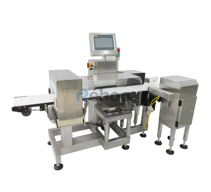 Metal Detector & Check Weigher Combo Machine